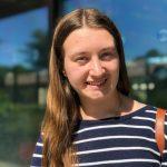Genevieve Franck, Mt. Holyoke student,; summer intern 2020